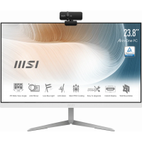 "MSI Modern AM241T 11M-403AU i7-1165G7/16GB/1TB SSD//Webcam/23.8"" Touch Screen/W10 Pro. White, 3yrs"