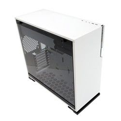 INWIN 101C-WHITE MID TOWER, TEMPERED GLASS, RGB LED, TYPE C.