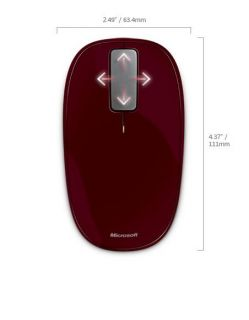 MICROSOFT EXP TOUCH SNGRIA RED U5K-00019.