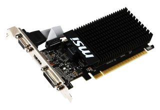 MSI GT 710 2GD3H LP DDR3- Low Profile. VGA/DVI/HDMI