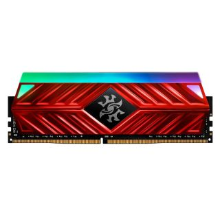32GB KIT (2*16GB)  ADATA XPG SPECTRIX D41 RGB DDR4 3200MHz RED - AX4U320016G16A-DR41