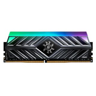 16GB KIT (2*8GB)  ADATA XPG SPECTRIX D41 RGB DDR4 3200MHz Tungsten Grey - AX4U32008G16A-DT41