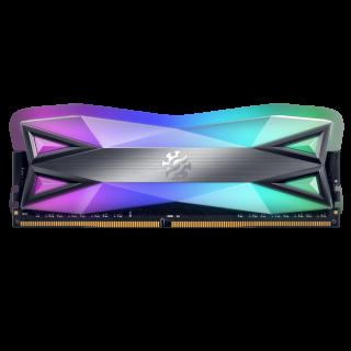 16GB KIT (2*8GB)  ADATA XPG SPECTRIX D60G RGB DDR4 3600MHz Tungsten Grey - AX4U36008G18I-DT60