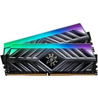 32GB KIT (2*16GB)  ADATA XPG SPECTRIX D41 RGB DDR4 3600MHz Tungsten Grey - AX4U360016G18I-DT41