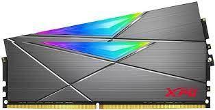 16GB KIT (2*8GB)  ADATA XPG SPECTRIX D50 RGB DDR4 3600MHz Tungsten Grey - AX4U36008G18I-DT50
