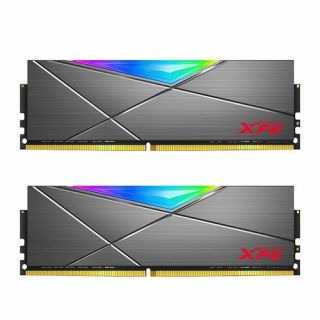 16GB KIT (2*8GB)  ADATA XPG SPECTRIX D50 RGB DDR4 3200MHz Tungsten Grey - AX4U32008G16A-DT50