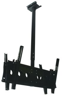 AV-D9250 DUAL DISPLAY CEILING MOUNT up to 60inch, Requires EF6540*2. (Not inc)
