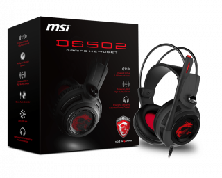 MSI DS502 GAMING HEADSET - S37-2100910-SV1