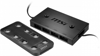MSI ARGB CONTROL BOX with REMOTE. 306-7G09F03-W57
