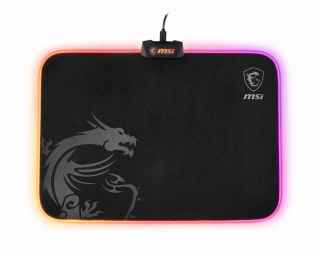MSI AGILITY GD60 (RGB) GAMING MOUSEPAD Micro-textured cloth surface, 386*276*10.2mm