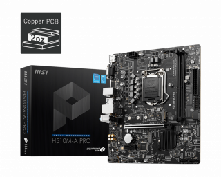 H510M-A PRO MOTHERBOARD.