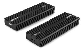 INFINITY BLACK ENCLOSURE FOR M.2 NVMe SSD (INF-XP01)