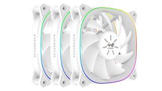 IN WIN SIRUS Extreme Pure White ASE120P-3PK ARGB CASE FAN 120mm + Controller. 2RAKFS012200