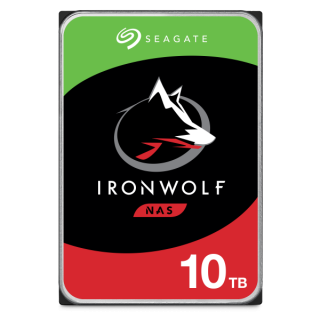 10TB SEAGATE NAS IRONWOLF 256MB - ST10000VN0008.
