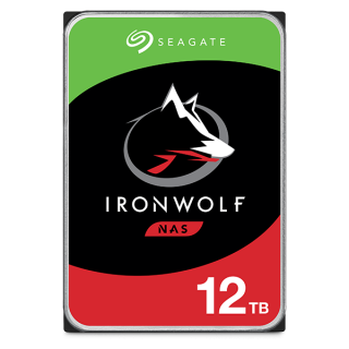SEAGATE IRONWOLF 12TB 3.5Inch/256MB/7200RPM/5Y - ST12000VN0008