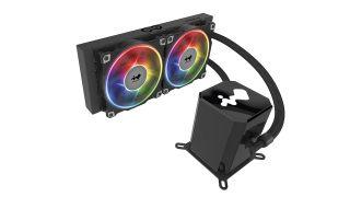 INWIN SR24PRO 240mm CPU LIQUID COOLER  - ARGB, AJF120*3 Fans, 5yrs Warranty.