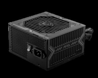 550W MSI PSU - MAG A550BN - BRONZE, ATX 12V, BLACK