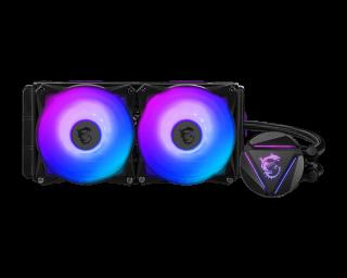 MSI MAG CORE LIQUID 280R - ARGB, PWM, 2*Fans, 140*140*25mm.