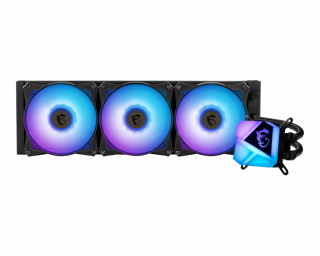 MSI MAG CORE LIQUID C360 - ARGB, PWM, 3*Fans, 120*120*25mm.
