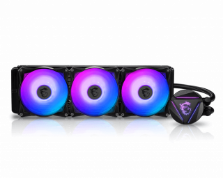 MSI MAG CORE LIQUID 360R - ARGB,PWM, 3*Fans, 120*120*25mm.