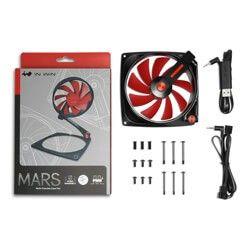 IN WIN MARS TRANSFORMER FAN 120mm RED - MARSFAN-1PK-RED