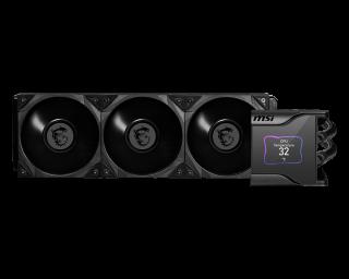 MSI MEG CORE LIQUID S360 - ARGB with LCD Panel, PWM, 3*Fans, 120*120*25mm.