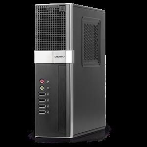 COM1 PRO 200 MINI-ITX CASE- EXT PSU- C/READER BUILT IN.