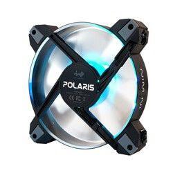 IN WIN POLARIS SILENT RGB-AS ALUMINIUM  CASE FAN - Single Pack.