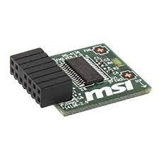 MSI TPM 2.0 MS-4136 MODULE. 914-4136-111 - X570/B400/Intel 300 Series.