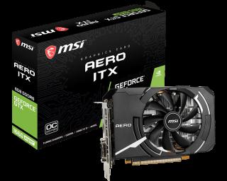 MSI GeForce GTX 1660 SUPER AERO ITX OC.