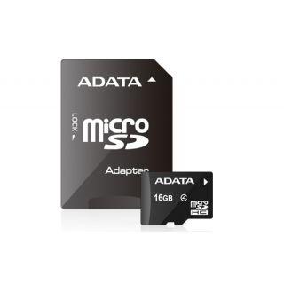 16GB ADATA microSDHC CLASS 4 Retail -  AUSDH16GCL4-R