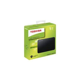 TOSHIBA CANVIO BASIC 1TB A3 USB3.0 2.5Inch 3YR HDTB410AK3AA.
