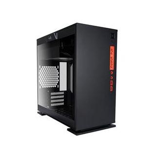 INWIN 301-BLACK, SECC TEMPERED GLASS, MICRO ATX, NO PSU.