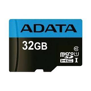 32GB ADATA microSDHC CLASS 10 Retail W/1 Adaptor  -  AUSDH32GUICL10-RA1