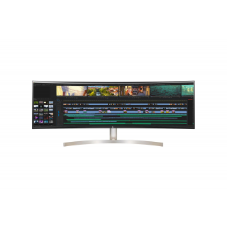 LG 49Inch 49WL95C-WE Curved Ultrawide,HDR10,5120*1440,SPK, 2*HDMI,DP,USB-C.Height Adjust