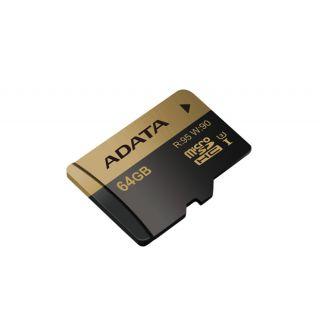 ADATA MICROSDXC 64GB XPG UHS-I U3 RETAIL - AUSDX64GXUI3-R
