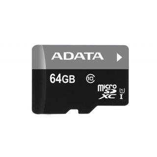 64GB ADATA microSDXC CLASS 10 Retail -  AUSDX64GUICL10-R