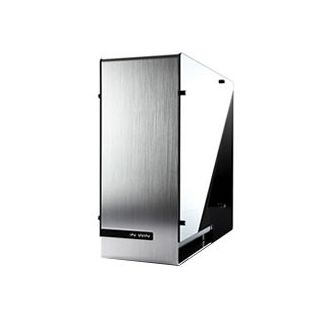 INWIN 909 Full Tower Case - Aluminum Frame, Tempered Glass, USB-C, Silver