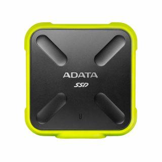 1TB EXTERNAL ADATA SSD Water/Dust Proof USB3.1(Yellow) - ASD700-1TU31-CYL