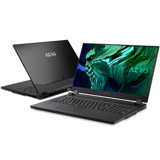 "AERO17-HDR-YD-73AU548SP- i7-11800H/16GB*2/512GBSSD+1TBSSD/RTX3080Q 8GB/17.3"" UHD/Win10 Pro/BLK/2yrs."
