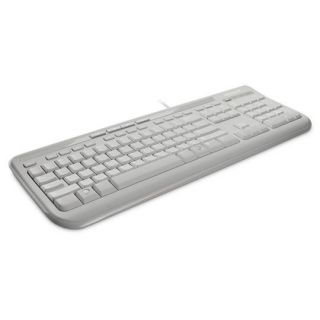 MICROSOFT WIRED 600 USB KEYBOARD WHITE - ANB-00034