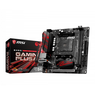 MSI B450I GAMING PLUS AC MOTHERBOARD.