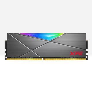 16GB KIT (2*8GB)  ADATA XPG SPECTRIX D50 RGB DDR4 4133MHz Tungsten Grey - AX4U41338G19J-DT50