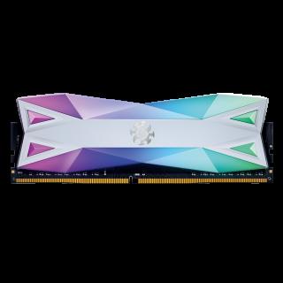 16GB KIT (2*8GB)  ADATA XPG SPECTRIX D60G RGB DDR4 3600MHz White - AX4U360038G18A-DW60