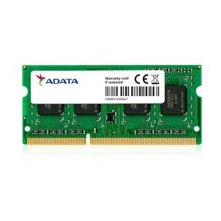 ADATA 8GB NOTEBOOK MEMORY DDR3-1600MHz  Low Voltage - ADDS1600W8G11-S