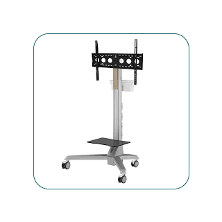 AV-CDT760 LARGE CONFERENCE DISPLAY TROLLEY CART.