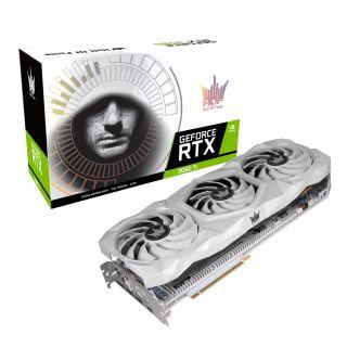 Galax GeForce  White RTX 3080 Ti HOF PCI-E 12GB / GDDR6X 384BIT W/DP/DP/DP/HDMI/Cooling Fan - 38IOM5MD3BHX