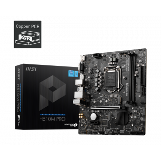 H510M PRO MOTHERBOARD.