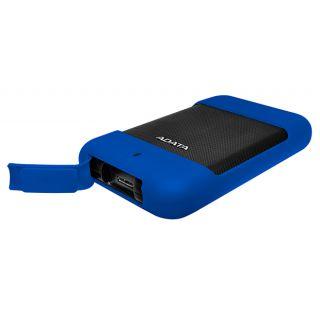 2TB ADATA HD700 EXTERNAL HDD USB3.0 BLUE - AHD700-2TU3-CBL
