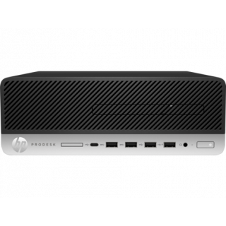 HP 600 ProDesk G3 SFF i5-7500, 8GB, 256GB SSD, DVDRW, W10P64 3/3/3YR. 1MF40PA